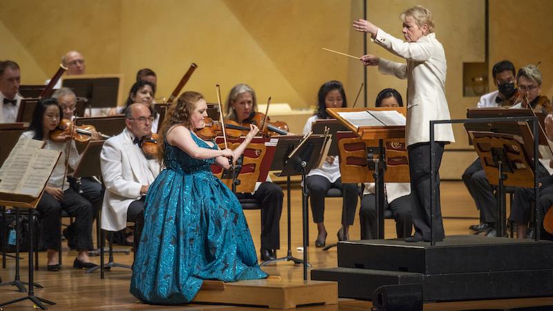 Rachel Barton Pine Chicago Symphony Marin Alsop