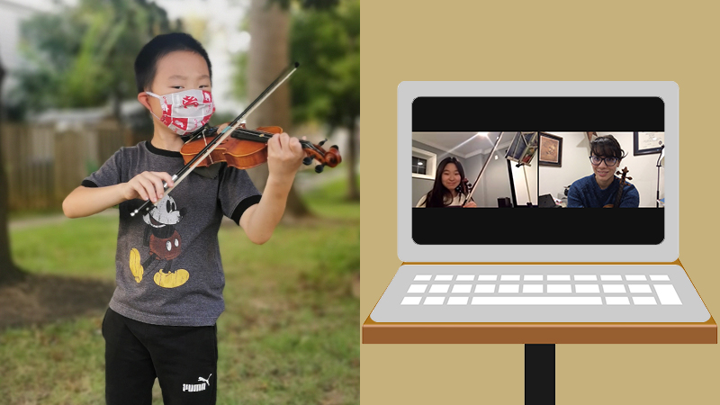 Violin Lessons This Fall: Going back? To What?
