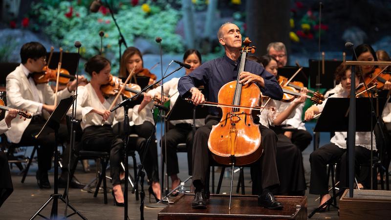 Interview: NY Phil Principal Cellist Carter Brey: World-Class Musician, Late-Starter