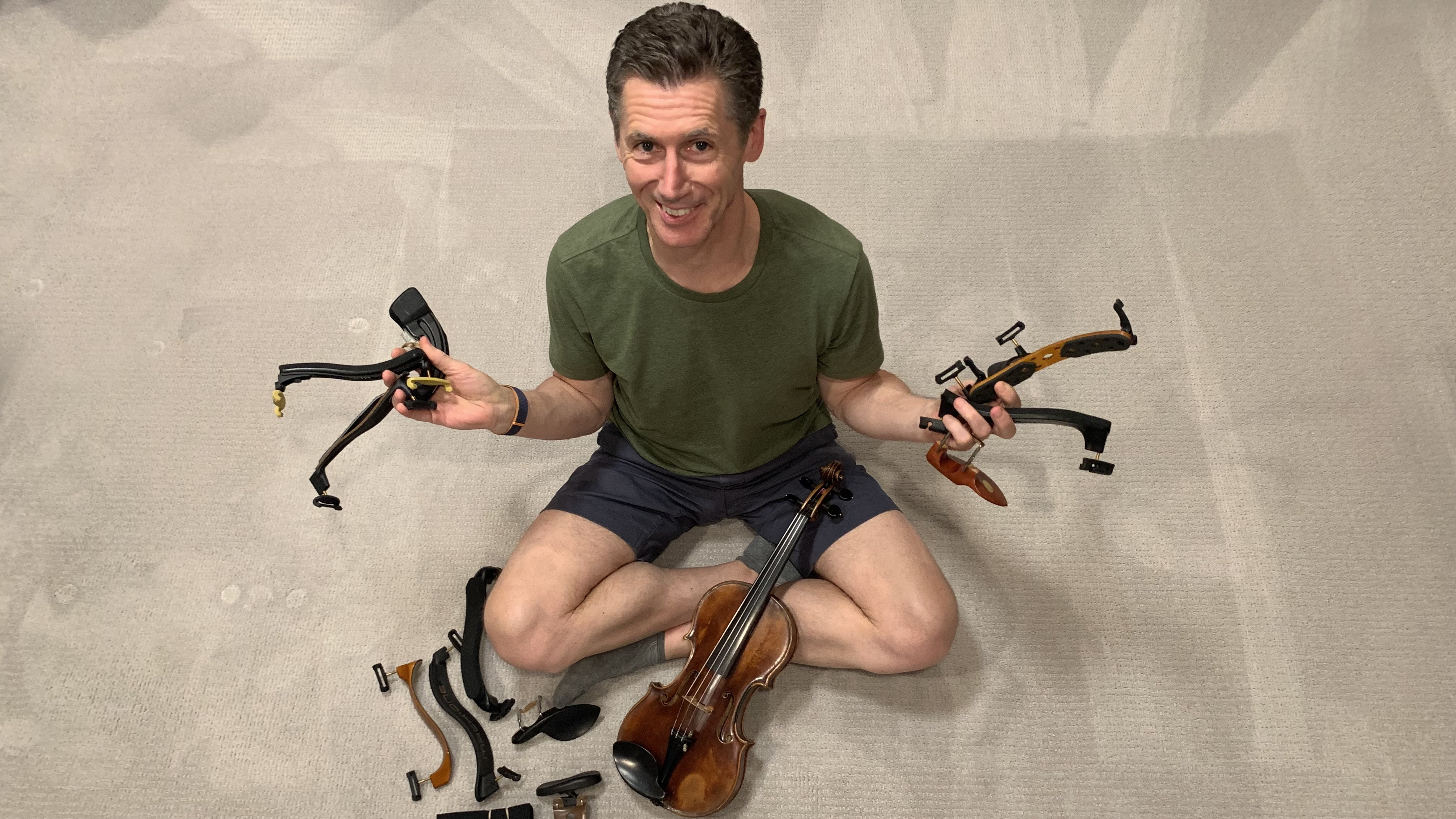 V.com weekend vote: Are you happy with your chin/shoulder rest set-up on the violin or viola?