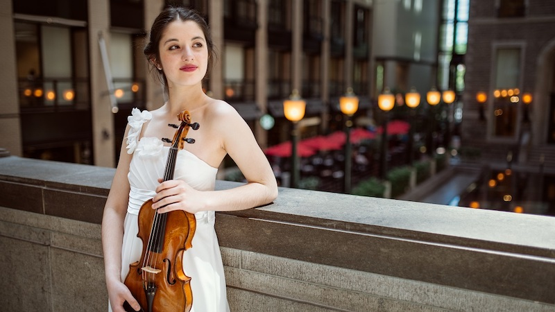 Interview with Violinist María Dueñas, 2021 Menuhin Competition winner