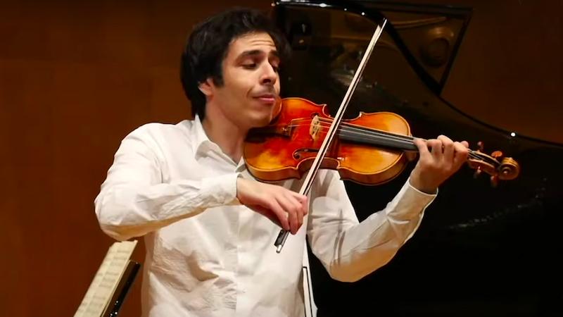 Shanghai Isaac Stern International Violin Competition 2020/21 Semi-Finals: Day 3 Mozart performances