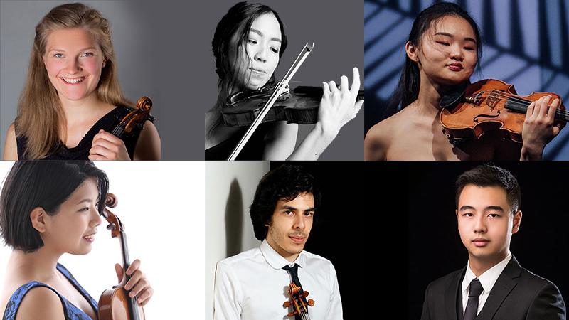 Finalists Announced in the 2020/21 Shanghai Isaac Stern International Violin Competition