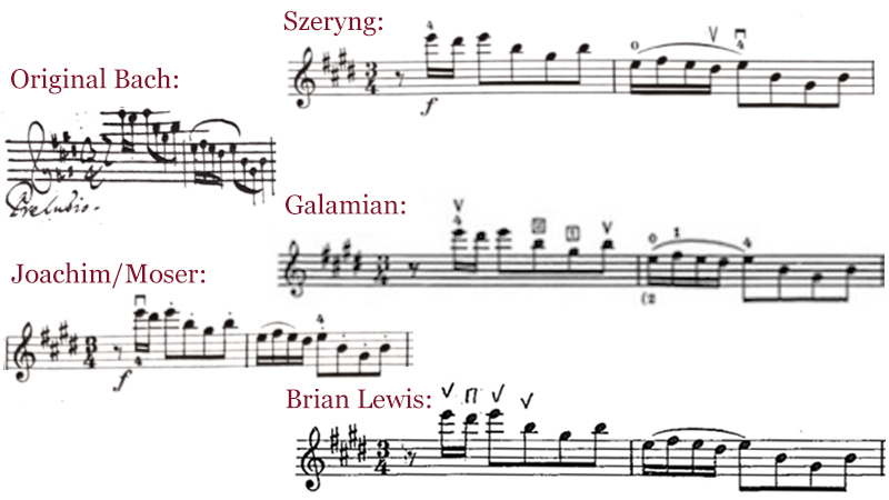 V.com weekend vote: Start Bach's Preludio up-bow, or down-bow?
