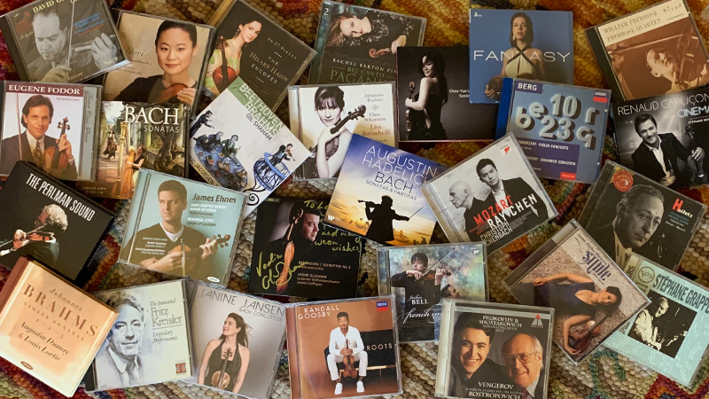 V.com weekend vote: How many CDs do you have?