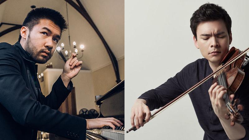 Conrad Tao and Stefan Jackiw