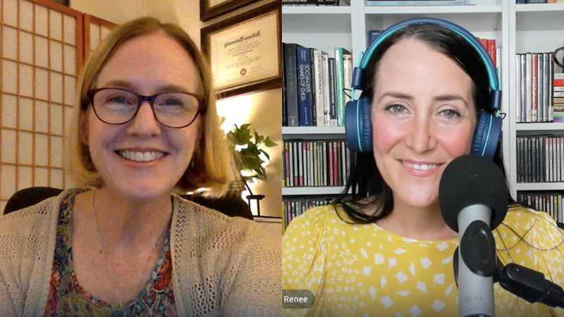 'Let's Work Together' - hear Laurie Niles on Mind Over Finger Podcast with Renée-Paule Gauthier