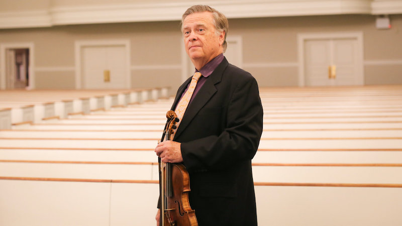 Violinist, Teacher and Conductor James Buswell (1946-2021)