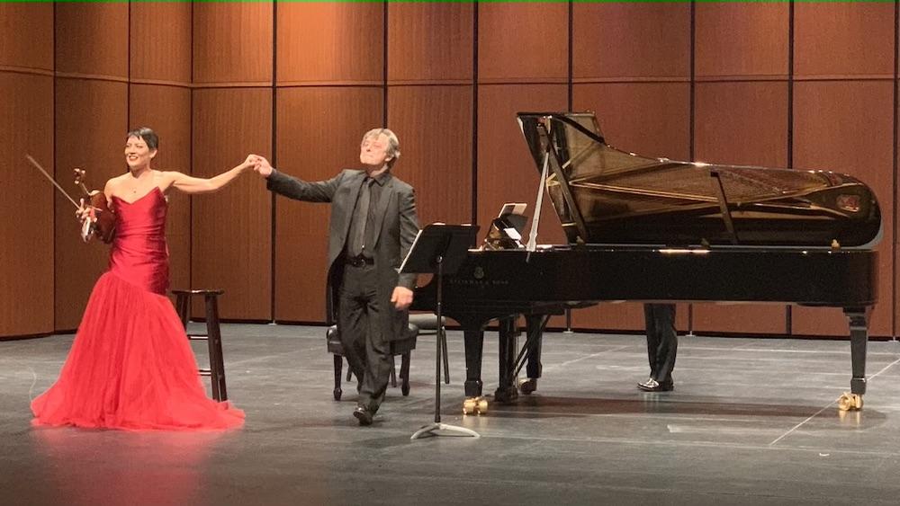 REVIEW: Violinist Anne Akiko Meyers in Recital with Pianist Fabio Bidini