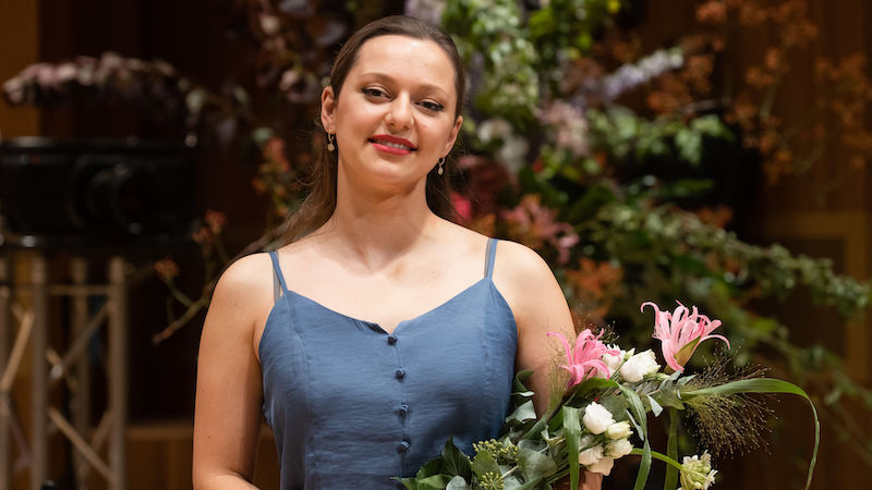 Maria Ioudenitch of the U.S. Wins the 2021 Joseph Joachim Violin Competition Hannover