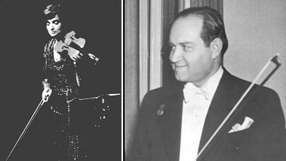 Violinist Nina Beilina describes her friend and mentor, David Oistrakh