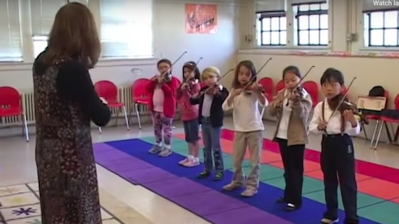 Documentary: Suzuki Violin at McKinley School, with Laurie Niles