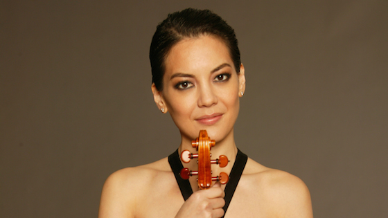 Violinist.com interview with Anne Akiko Meyers: Smile