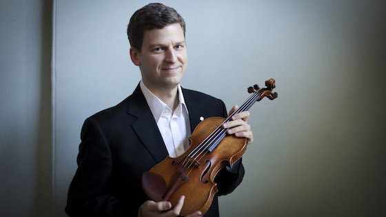 Violinist.com interview with James Ehnes