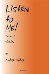Listen to Me! by Clare Ward (Book and CD)