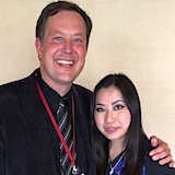 Brian Lewis and Sarah Chang