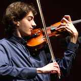 Stephen Waarts at the Menuhin Competition
