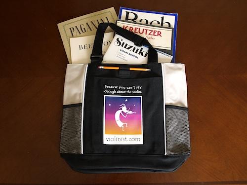 Violinist.com music bag