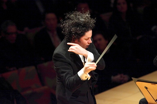 Dudamel, from front