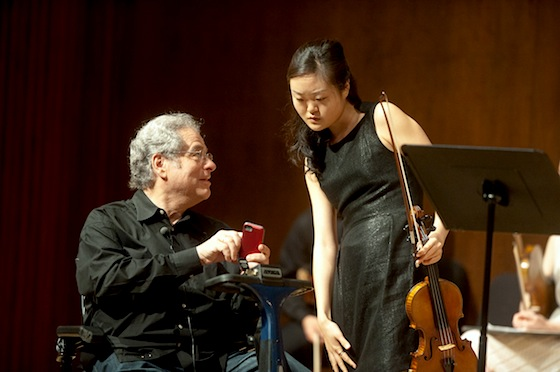 Itzhak Perlman at Starling-Delay
