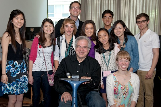 Perlman, Lewis and students