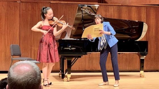 Anna Wei and Patinka Kopec