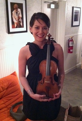 Anne Akiko Meyers and the ex-Molitor Strad