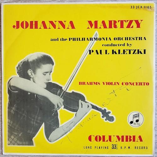 1958 Martzy Brahms LP