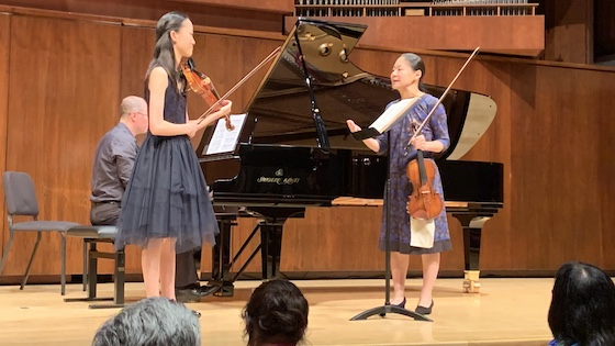 Caecilia Lee and Midori