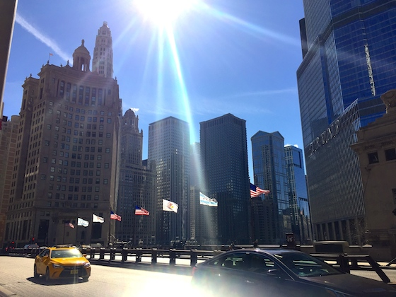 Chicago glare