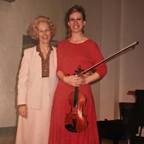 Alice Schoenfeld and Colleen Coomber