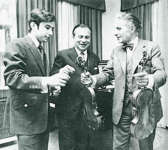 Daniel Heifetz and Henryk Szeryng