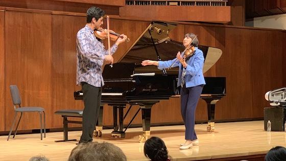 Enrique Rodrigues and Patinka Kopec