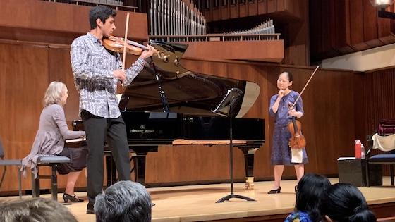 Enrique Rodrigues and Midori