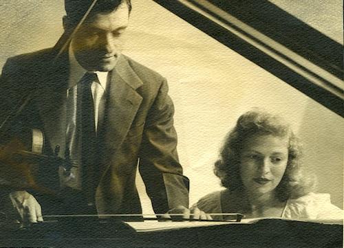 Israel Baker with Yaltah Menuhin