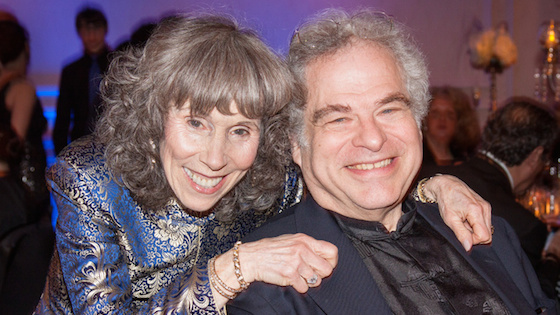 Toby and Itzhak Perlman