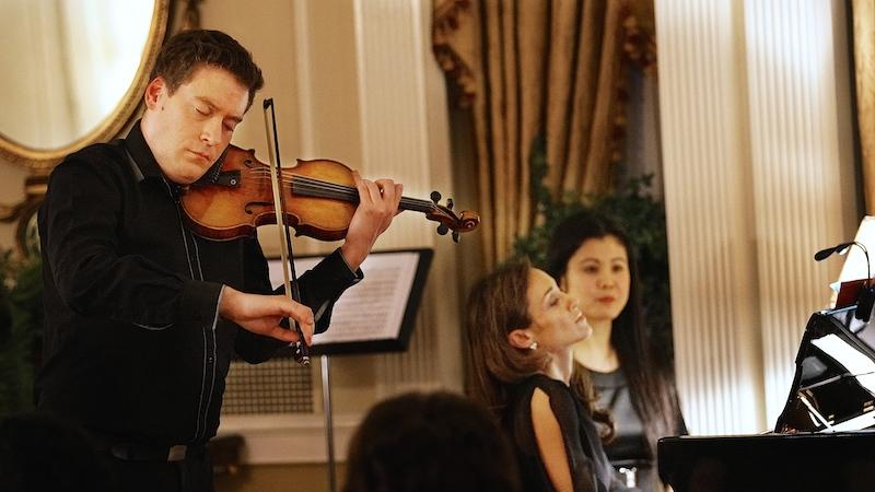 Kristof Barati and Marta Aznavoorian