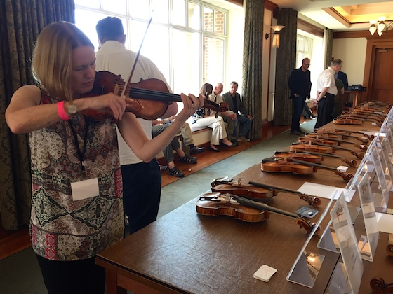 Laurie IVCI Violin Exhibit