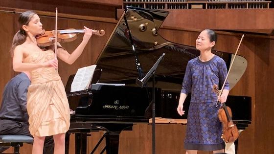 Maya Buchanan and Midori