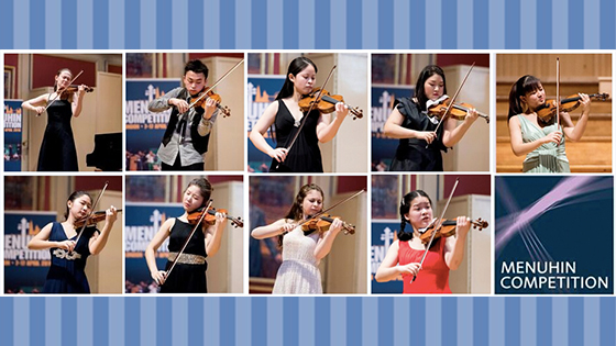 Menuhin 2016 senior semi-finalists