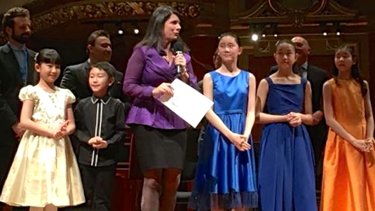 2018 Menuhin Competition Junior Winners