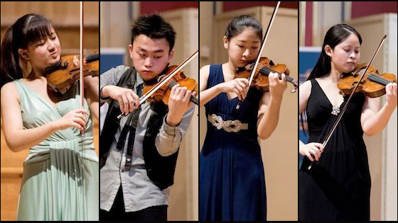 Menuhin 2016 senior finalists