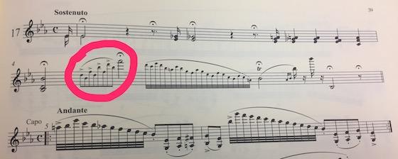 Paganini 17 excerpt
