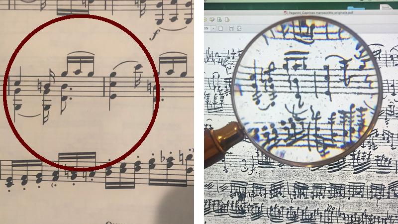 Paganini Caprice 4 errors