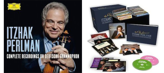 Itzhak Perlman boxed sets