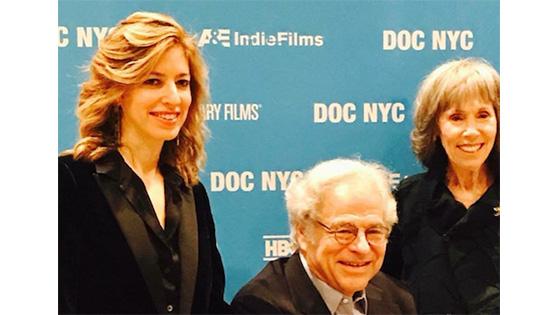 Alison Chernick, Itzhak and Toby Perlman