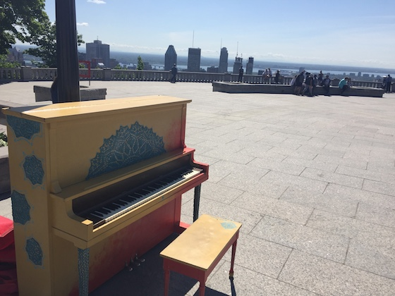 piano on Mt. Royal