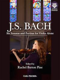 Rachel Barton Pine Bach cover