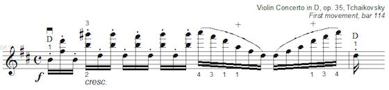 Tchaikovsky example