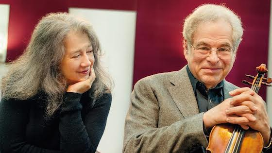 Argerich and Perlman